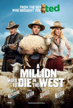 Poster for A Million Ways to Die in the West