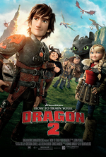 Poster for How to Train Your Dragon 2