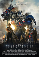 Poster for Transformers: Age of Extinction