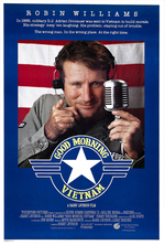 Poster for Good Morning, Vietnam