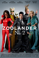 Poster for Zoolander No. 2