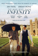 Poster for The Man Who Knew Infinity