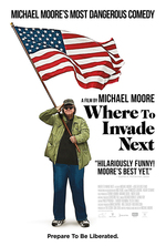 Poster for Where to Invade Next