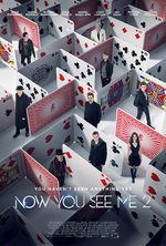 Poster for Now You See Me 2