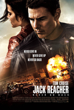 Poster for Jack Reacher: Never Go Back