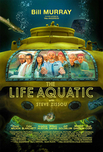 Poster for The Life Aquatic with Steve Zissou