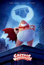 Poster for Captain Underpants: The First Epic Movie