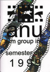 Booklet cover for Semester One, 1999