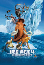 Poster for Ice Age 4: Continental Drift