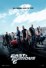 Poster for Fast & Furious 6