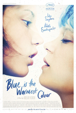 Poster for Blue is the Warmest Colour (La vie d'Adèle)
