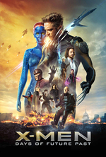 Poster for X-Men: Days of Future Past