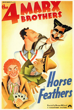 Poster for Horse Feathers
