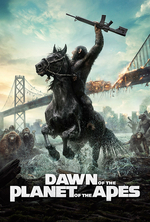 Poster for Dawn of the Planet of the Apes