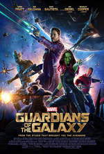Poster for Guardians of the Galaxy