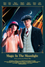Poster for Magic in the Moonlight