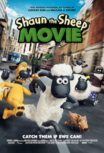Poster for Shaun the Sheep Movie