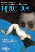 Poster for The Blue Room (La chambre bleue)