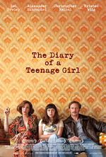 Poster for The Diary of a Teenage Girl
