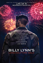 Poster for Billy Lynn's Long Halftime Walk