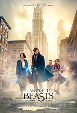 Poster for Fantastic Beasts and Where to Find Them