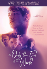 Poster for It's Only the End of the World (Juste la fin du monde)
