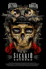 Poster for Sicario: Day of the Soldado