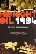 Poster for Midnight Oil: 1984