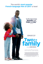 Poster for Two Is a Family (Demain tout commence)