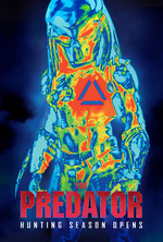 Poster for The Predator