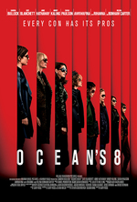 Poster for Ocean's 8 (Free Re-screening)