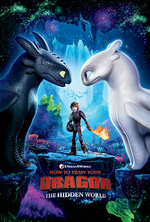 Poster for How to Train Your Dragon: The Hidden World