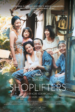 Poster for Shoplifters (Manbiki kazoku)