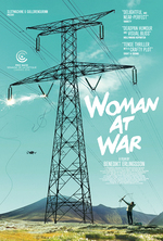 Poster for Woman at War (Kona fer í stríð)