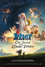 Poster for Asterix: The Secret of the Magic Potion