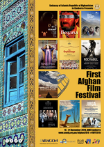 Poster for Afghan Film Festival (November 15 – 21)